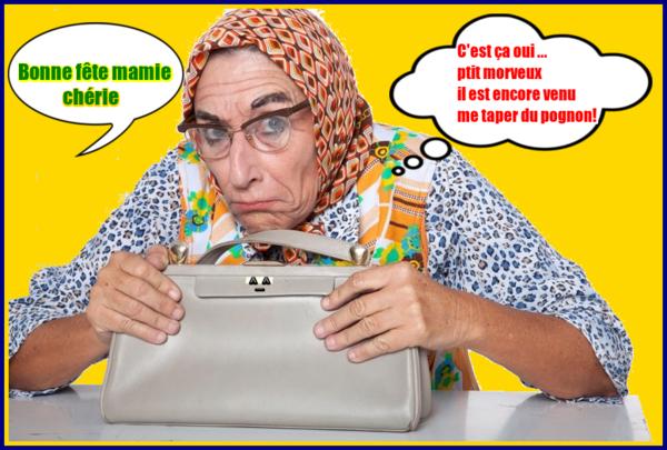 """Résultat de recherche d'images pour """"bonne fête mamie humour"""""""